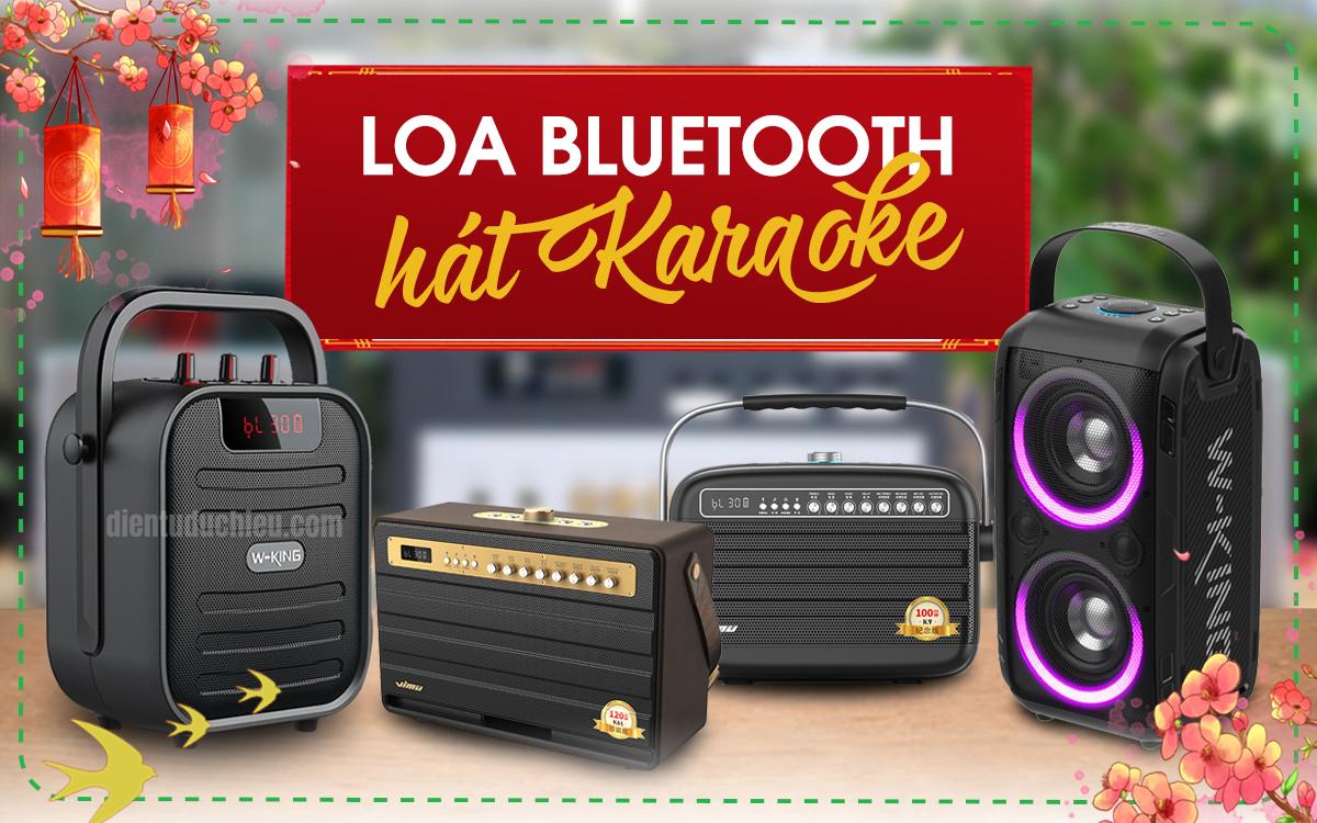 Dưới 5 triệu nên mua Loa Bluetooth kèm Micro hát Karaoke hay dàn Karaoke mới