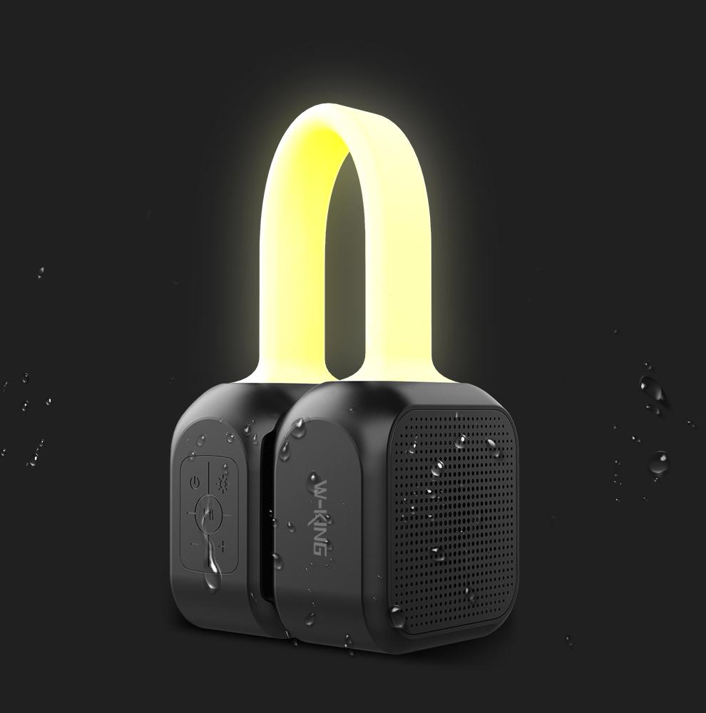 Loa xách tay Bluetooth W-King S22 tích hợp đèn ngủ