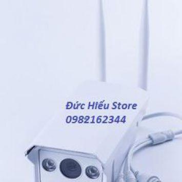 Camera IP HD giám sát ngoài trời IPC-ZQ02R (Trắng)