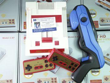 COMBO Máy game 4 nút 8-bit HDMI + Súng game ARG-09