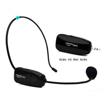 Microphone gài tai không dây 2.4G XXD-G18