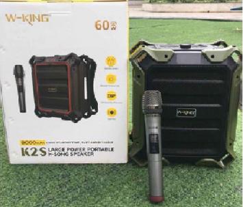 Loa kéo di động Bluetooth W-King K2S công suất 60w