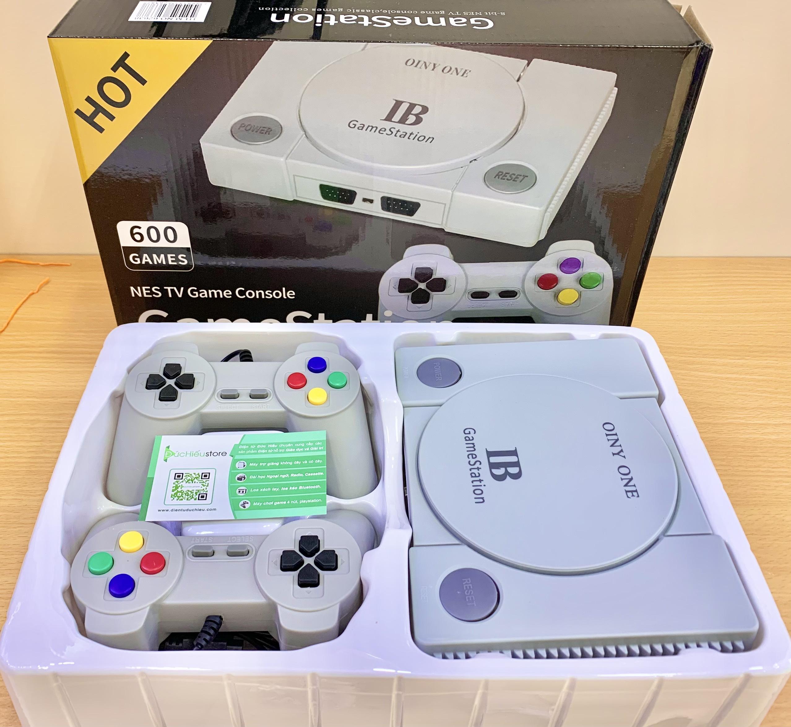 Máy Chơi Game 4 Nút GameStation Tích Hợp 600 Games Kết Nối AV dientuduchieu.com